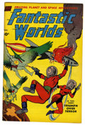Golden Age (1938-1955):Science Fiction, Fantastic Worlds 5 (#1) (Standard, 1952) Condition: VF....