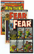 Bronze Age (1970-1979):Horror, Fear Group (Marvel, 1971-75) Condition: Average FN/VF.... (Total:23)