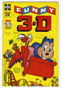 Golden Age (1938-1955):Funny Animal, Funny 3-D #1 (Harvey, 1953) Condition: FN/VF....