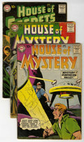 Silver Age (1956-1969):Horror, House of Mystery Group (DC, 1958-60) Condition: Average GD/VG....(Total: 5)