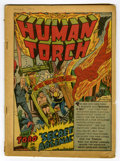 Golden Age (1938-1955):Superhero, The Human Torch #6 (Timely, 1941) Condition: Coverless....