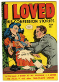"""Golden Age (1938-1955):Romance, I Loved #28 Davis Crippen (""""D"""" Copy) pedigree (Fox Features Syndicate, 1949) Condition: VF...."""
