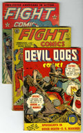 Golden Age (1938-1955):War, Miscellaneous Golden Age War Group (Various Publishers, 1940-46)Condition: Average GD.... (Total: 8)