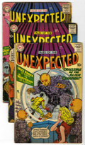 Silver Age (1956-1969):Horror, Tales of the Unexpected Group (DC, 1958-60) Condition: AverageGD/VG.... (Total: 5)