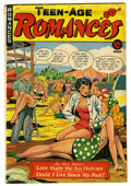 "Golden Age (1938-1955):Romance, Teen-Age Romances #11 Davis Crippen (""D"" Copy) pedigree (St. John,1950) Condition: VG. ..."