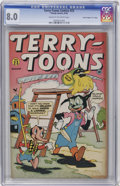 "Golden Age (1938-1955):Funny Animal, Terry-Toons Comics #23 Davis Crippen (""D"" Copy) pedigree (Timely,1944) CGC VF 8.0 Cream to off-white pages...."