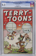 """Golden Age (1938-1955):Funny Animal, Terry-Toons Comics #25 Davis Crippen (""""D"""" Copy) pedigree (Timely,1944) CGC VF+ 8.5 Off-white pages...."""