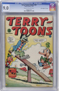 "Golden Age (1938-1955):Funny Animal, Terry-Toons Comics #26 Davis Crippen (""D"" Copy) pedigree (Timely,1944) CGC VF/NM 9.0 Cream to off-white pages...."