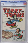 "Golden Age (1938-1955):Funny Animal, Terry-Toons Comics #29 Davis Crippen (""D"" Copy) pedigree (Timely,1945) CGC NM- 9.2 Cream to off-white pages...."