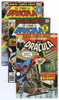 Bronze Age (1970-1979):Horror, Tomb of Dracula Group (Marvel, 1974-79) Condition: Average VF-....(Total: 39)