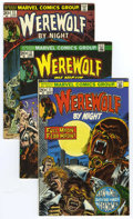 Bronze Age (1970-1979):Horror, Werewolf by Night Group (Marvel, 1973-77) Condition: AverageFN/VF.... (Total: 29)