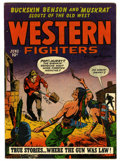 Golden Age (1938-1955):Western, Western Fighters V3#7 (Hillman Fall, 1951) Condition: FN-....