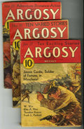 Pulps:Adventure, Argosy-All Story Weekly Group (Munsey, 1933) Condition: Average GD/VG.... (Total: 6)