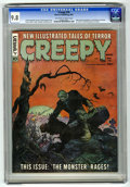 Magazines:Horror, Creepy #10 (Warren, 1966) CGC NM/MT 9.8 Off-white to white pages....