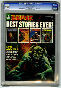 Eerie Annual #1971 (Warren, 1971) CGC NM/MT 9.8 Off-white to white pages