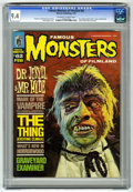 Magazines:Horror, Famous Monsters of Filmland #62 (Warren, 1970) CGC NM 9.4 Off-white to white pages....