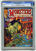 Magazines:Horror, Monsters of the Movies #2 (Marvel, 1974) CGC NM/MT 9.8 Off-white to white pages....