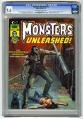 Magazines:Horror, Monsters Unleashed #6 (Marvel, 1974) CGC NM+ 9.6 Off-white to white pages....