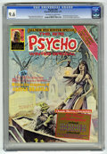 Magazines:Horror, Psycho #24 (Skywald, 1975) CGC NM+ 9.6 Off-white to white pages....