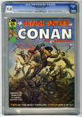 Magazines:Superhero, Savage Sword of Conan #1 (Marvel, 1974) CGC NM/MT 9.8 Off-white towhite pages....
