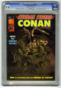 Magazines:Superhero, Savage Sword of Conan #6 (Marvel, 1975) CGC NM/MT 9.8 Off-white towhite pages....