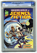 Magazines:Science-Fiction, Unknown Worlds of Science Fiction #4 (Marvel, 1975) CGC NM/MT 9.8 White pages....