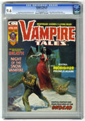 Magazines:Horror, Vampire Tales #4 (Marvel, 1974) CGC NM+ 9.6 Off-white to white pages....