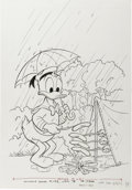 Original Comic Art:Covers, Donald Duck #193 Cover Original Art (Gold Key, 1978). ...