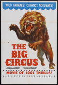 """Movie Posters:Drama, The Big Circus (Allied Artists, 1959). One Sheet (27"""" X 41""""). Drama. Starring Victor Mature, Red Buttons, Rhonda Fleming, Ka..."""