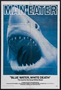 "Movie Posters:Documentary, Blue Water, White Death (National General, 1971). One Sheet (27"" X 41""). Documentary.Starring Peter Gimbel, James Lipscomb a..."