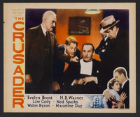 """The Crusader (Majestic Pictures Inc., 1932). Lobby Card (11"""" X 14""""). Drama. Starring Evelyn Brent, H.B. Warner..."""