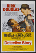 "Movie Posters:Crime, Detective Story (Paramount, R-1960). One Sheet (27"" X 41""). PoliceDrama. Starring Kirk Douglas, Eleanor Parker, William Ben..."