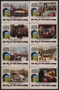 """Movie Posters:Drama, The Fall of the Roman Empire (Paramount, 1964). Lobby Card Set of 8 (11"""" X 14""""). Historical Drama. Starring Sophia Loren, St... (Total: 8 Items)"""