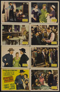 "Movie Posters:Western, Frontier Marshal (20th Century Fox, 1939). Lobby Card Set of 8 (11"" X 14""). Western. Starring Randolph Scott, Nancy Kelly, C... (Total: 8 Items)"