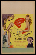 "Movie Posters:Comedy, Getting Gertie's Garter (United Artists, 1945). Window Card (14"" X 22""). Comedy. Starring Dennis O'Keefe, Marie McDonald, Ba..."