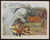 """Ghost of Dragstrip Hollow (American International Pictures, 1959). Half Sheet (22"""" X 28""""). Horror Comedy. Star..."""