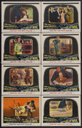 """Movie Posters:Horror, House of Wax (Warner Brothers, 1953). Lobby Card Set of 8 (11"""" X 14""""). Horror. Starring Vincent Price, Frank Lovejoy, Phylli... (Total: 8 Items)"""