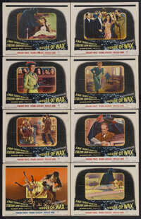 """House of Wax (Warner Brothers, 1953). Lobby Card Set of 8 (11"""" X 14""""). Horror. Starring Vincent Price, Frank L..."""