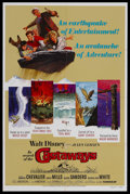 "Movie Posters:Adventure, In Search of the Castaways (Buena Vista, R-1978). One Sheet (27"" X41""). Adventure. Starring Maurice Chevalier, Hayley Mills..."