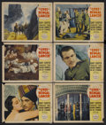 "Movie Posters:Adventure, The Lives of a Bengal Lancer (Paramount, 1935). Lobby Cards (6)(11"" X 14""). Adventure. Starring Gary Cooper, Franchot Tone,...(Total: 6 Items)"