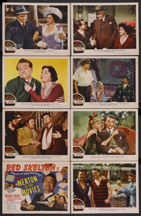 """Merton of the Movies (MGM, 1947). Lobby Card Set of 8 (11"""" X 14""""). Romantic Comedy. Starring Red Skelton, Virg..."""