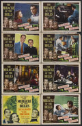 """Movie Posters:Drama, The Miracle of the Bells (RKO, 1948). Lobby Card Set of 8 (11"""" X 14""""). Drama. Starring Fred MacMurray, (Alida) Valli, Frank ... (Total: 8 Items)"""