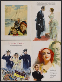 """Motion Picture Herald Magazine (1937). Pages (13) (9.5"""" X 12.5""""). These are pages taken from the trade magazin..."""
