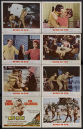 "Movie Posters:War, Never So Few (MGM, 1959). Lobby Card Set of 8 (11"" X 14""). War.Starring Frank Sinatra, Gina Lollobrigida, Peter Lawford, St...(Total: 8 Items)"