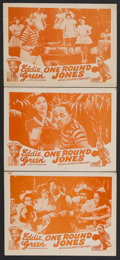 """Movie Posters:Black Films, One Round Jones (Toddy Pictures, R-1946). Lobby Cards (3) (11"""" X14""""). Sports Comedy. Little is known about this lost musica...(Total: 3 Items)"""
