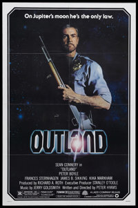 """Outland (Warner Brothers, 1981). One Sheet (27"""" X 41""""). Science Fiction. Starring Sean Connery, Peter Boyle, F..."""