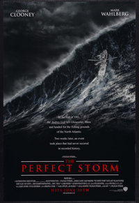 """The Perfect Storm (Warner Brothers, 2000). One Sheet (27"""" X 40"""") DS Advance. Drama"""