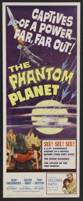 "Movie Posters:Science Fiction, Phantom Planet (AIP, 1961). Insert (14"" X 36""). Science Fiction.Starring Dean Fredericks, Coleen Gray, Anthony Dexter and F..."