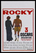 """Movie Posters:Sports, Rocky (United Artists, 1977). Belgian (14"""" X 22""""). Sports Drama. Starring Sylvester Stallone, Talia Shire, Burt Young, Carl ..."""