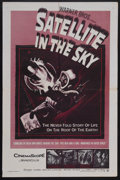 "Movie Posters:Science Fiction, Satellite In The Sky (Warner Brothers, 1956). One Sheet (27"" X 41""). Science Fiction. Starring Kieron Moore, Lois Maxwell, D..."